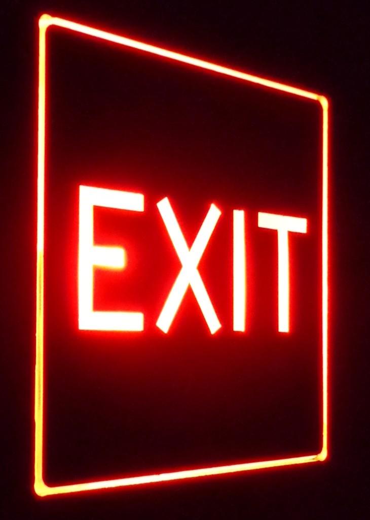 1399899388Zentrex Exit Light